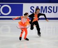 Xiaoyang Yu e Chen Wang (CHN) Fotografia Stock