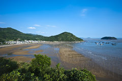 Xiapu Beach of Fujian, China. Royalty Free Stock Photography