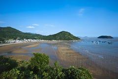 Xiapu Beach of Fujian, China. A stretch of beach at Xiapu County of Fujian Province in South China Royalty Free Stock Photography