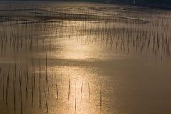Xiapu en la puesta del sol Fotografía de archivo