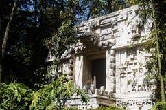 Xibalba,玛雅地狱的门 免版税库存照片