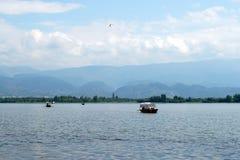 Xichangï ¼的ŒChina Qionghai湖 免版税库存照片