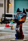 Xico sculptures on San Francisco de Asis Square in Havana, Cuba royalty free stock photos