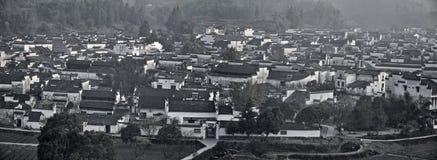 Xidi en liten forntida by i det Anhui landskapet i Kina nära de gula bergen Royaltyfri Fotografi