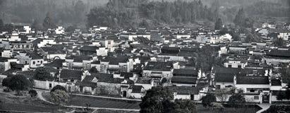 Xidi, mała antyczna wioska w prowincja anhui w Chiny blisko Żółtych gór Zdjęcie Stock