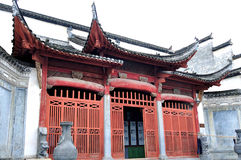 Xidi Village ancestral temple Royalty Free Stock Photography