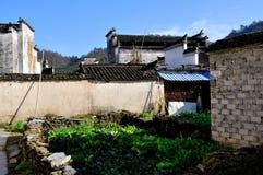 Xidi Village Garden Stock Images