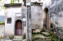 Xidi Village House Stock Photography