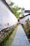 Xidi Village Lane Royalty Free Stock Photos