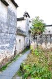 Xidi Village Lane Royalty Free Stock Photography
