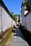 Xidi Village Lane Stock Photography