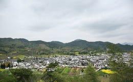 Xidi village panorama Stock Photography