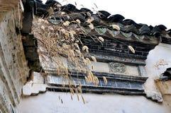 Xidi village walls Stock Image