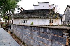 Xidi village walls Stock Photo