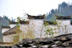 Xidi village walls Royalty Free Stock Image