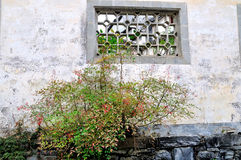 Xidi village walls Royalty Free Stock Photos