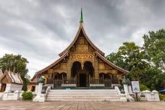 xieng för wat för thong för laos luangprabang Fotografering för Bildbyråer