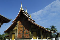 Xieng thong temple, luang prabang Royalty Free Stock Images