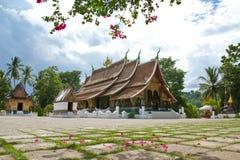 Xieng Thong temple Stock Image