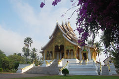 Xiengthong Temple in  Luang Prabang City at Loas Stock Image