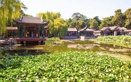 Xiequ Yuan(Garden of Harmonious Pleasures) scene of Summer Palace Stock Image
