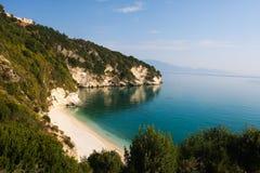 Xigia beach  Zakynthos Greece 2014 Royalty Free Stock Image