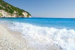 Xigia Beach in Zante (Zakynthos) Greece Stock Images