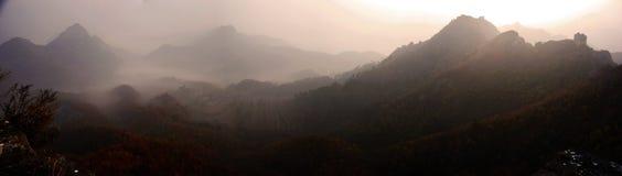 Xigou wielkiego muru sceneria, ludowi zwyczaje obraz stock