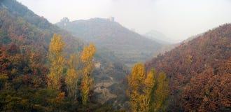 Xigou wielkiego muru sceneria, ludowi zwyczaje fotografia stock