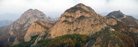Xigou wielkiego muru sceneria, ludowi zwyczaje fotografia royalty free
