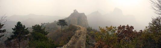 Xigou wielkiego muru sceneria, ludowi zwyczaje zdjęcia royalty free