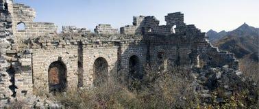Xigou wielkiego muru sceneria, ludowi zwyczaje obrazy stock