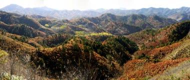 Xigou wielkiego muru sceneria, ludowi zwyczaje zdjęcia stock
