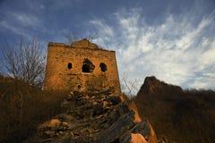 Xigou wielkiego muru sceneria, ludowi zwyczaje obrazy royalty free