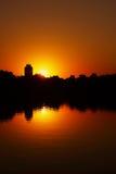 xihai захода солнца Стоковое Изображение