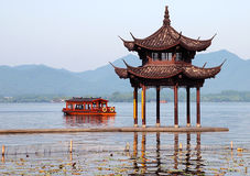 Xihu lake Royalty Free Stock Image