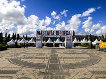 XII zawody międzynarodowi festiwal Iberyjska maska w Belem, Lisbon Zdjęcie Royalty Free