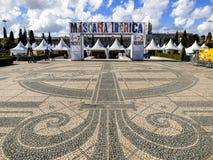 XII zawody międzynarodowi festiwal Iberyjska maska w Belem, Lisbon Zdjęcie Stock