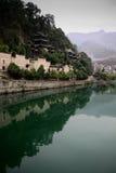xijiang för porslinstadsvatten Royaltyfri Fotografi