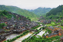 Xijiang -Guizhou china Royalty Free Stock Images