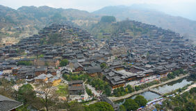 Xijiang Miao Village Stock Photography