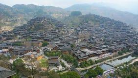 Xijiang Miao Village Fotografía de archivo