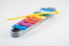 Xilófono colorido Fotos de archivo