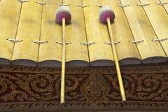 Xilófono de Tailandia Fotos de archivo