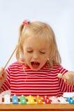 Xilófono del arco iris Imagen de archivo libre de regalías