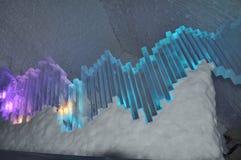 Xilófono del hielo Foto de archivo