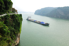 Xiling峡谷 免版税库存图片
