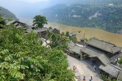 Xiling gorge scenery Stock Photos