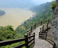 Xiling gorge scenery Stock Photography