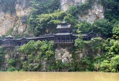 Xiling gorge scenery Royalty Free Stock Photos